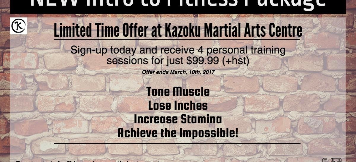 Personal Training Promotion
