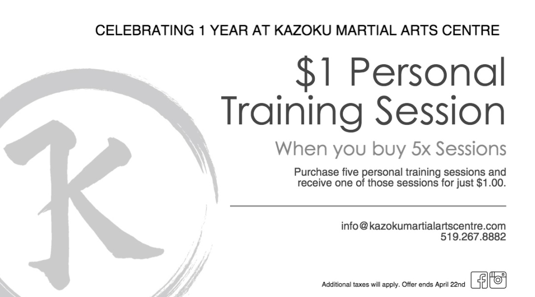 1 Year PT Special Offer