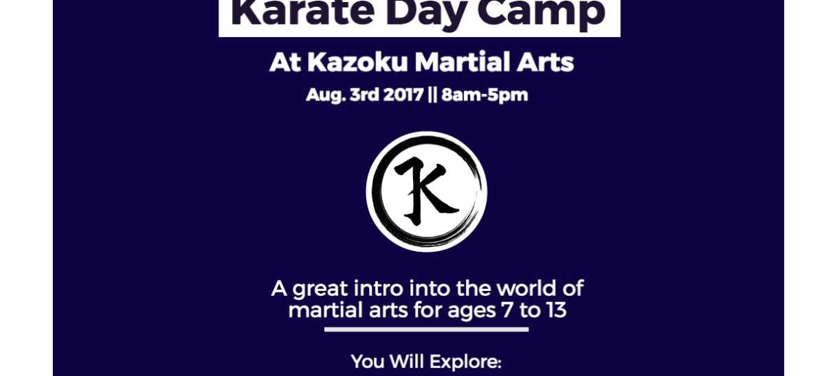 Karate Day Camp