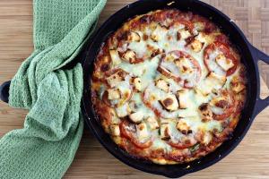 Chicken Skillet Pizza