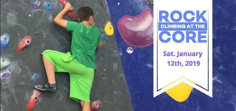 Rock Climbing Fundraiser
